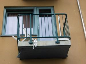 Vem ansvarar för balkongen?