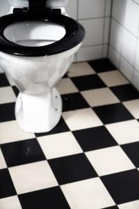 Elaka mäklaren: Oväntat besök på toaletten