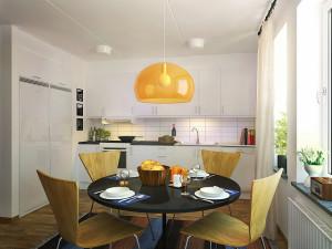 Köket är bostadens viktigaste rum